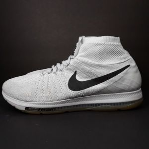 Nike Zoom All Out Flyknit Gray Sz 12